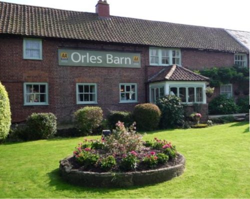 Orles Barn Hotel in Ross on Wye