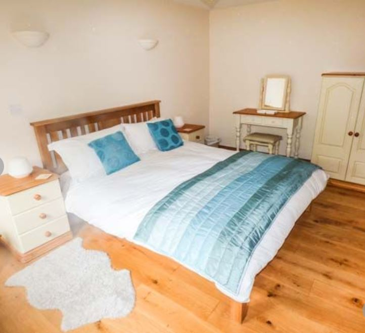 Bedroom at holiday cottage Ross on Wye