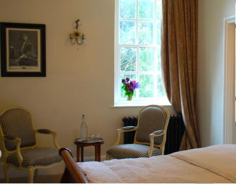 Bedroom at bed and breakfast Ross on Wye