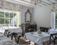 Breakfast room at bed and breakfast Ross on Wye