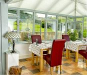 Breakfast room at bed and breakfast near Ross on Wye