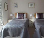 Twin Room At Guest House Ross on Wye