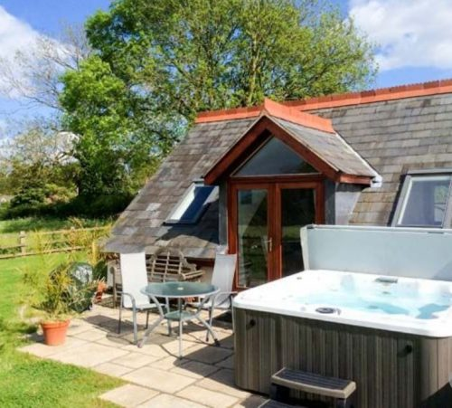 The Loft holiday cottage near Ross on Wye