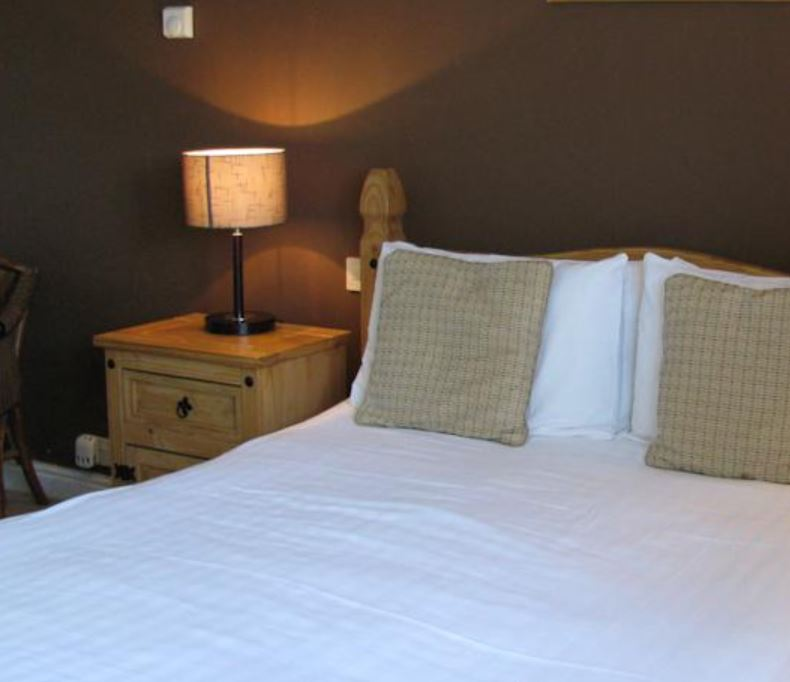 Bedroom at hotel near Ross on Wye