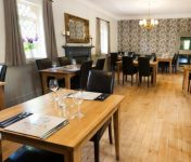 Dining room at hotel near Ross on Wye
