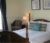 Double room at Wye Valley hotel