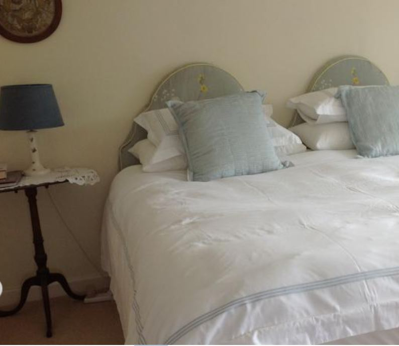 Double room at bed and breakfast near Ross on Wye
