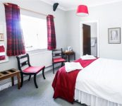 Double room at hotel near Ross on Wye