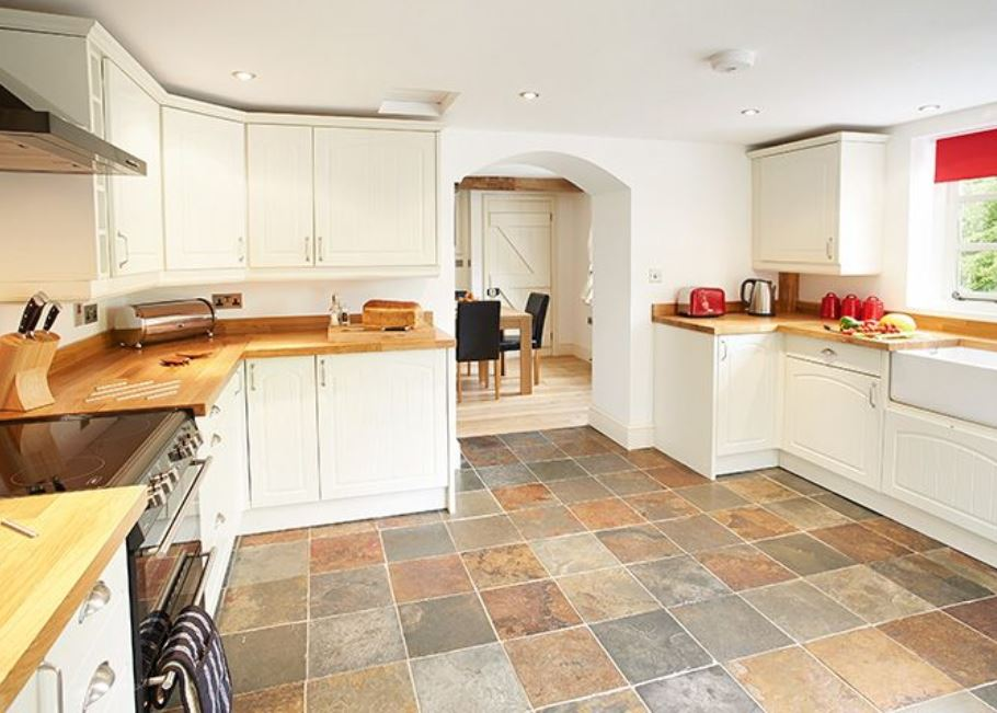 kitchen at cottage Wye Valley