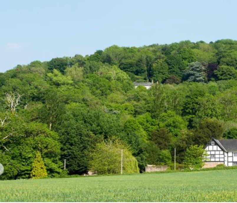 Location of bed and breakfast near Ross on Wye