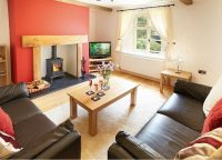 Sitting room at Wye Valley self catering