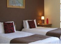 Twin room at hotel near Ross on Wye