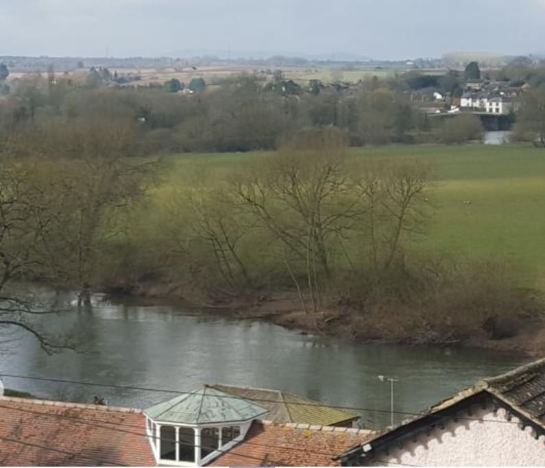View over the wye