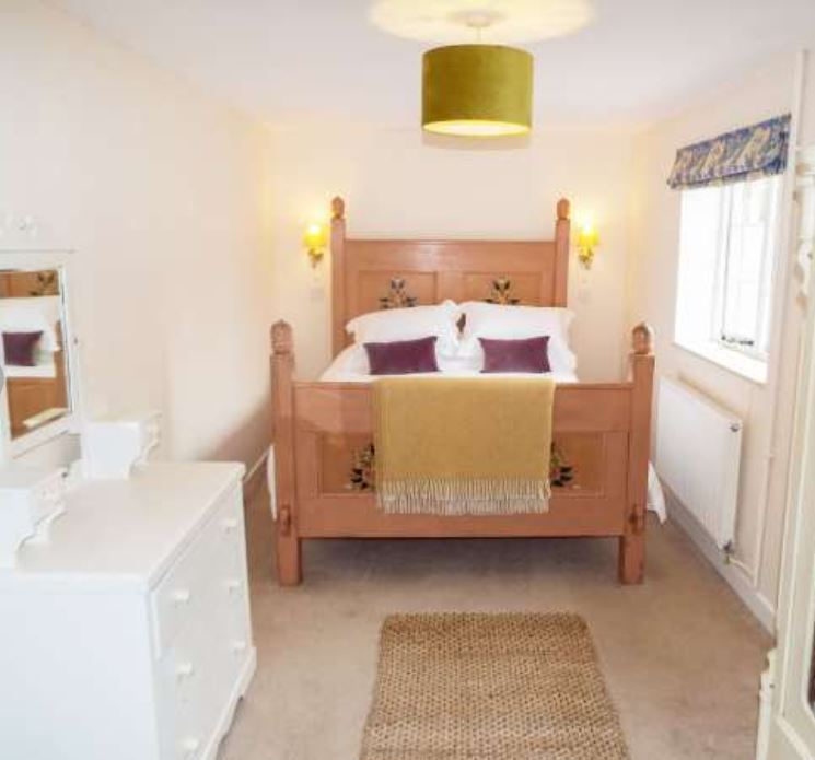 Bedroom at self catering Ross on Wye