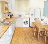 Kitchen at self catering Ross on Wye