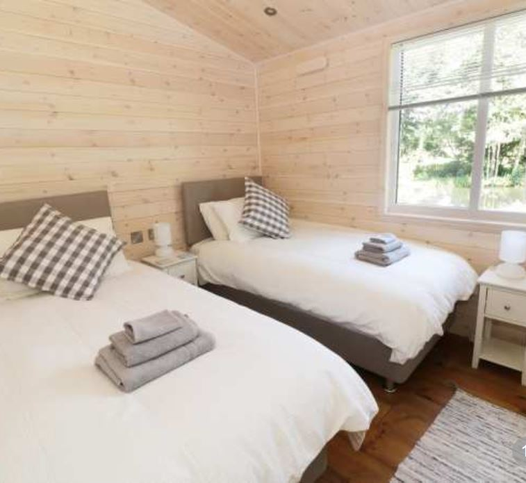 Twin room at self catering Ross on Wye
